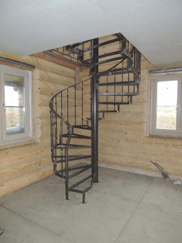 Винтовую лестницу металлическую своими руками